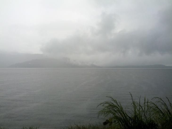 Danau Atas Bawah - Edisi Hujan View :-P